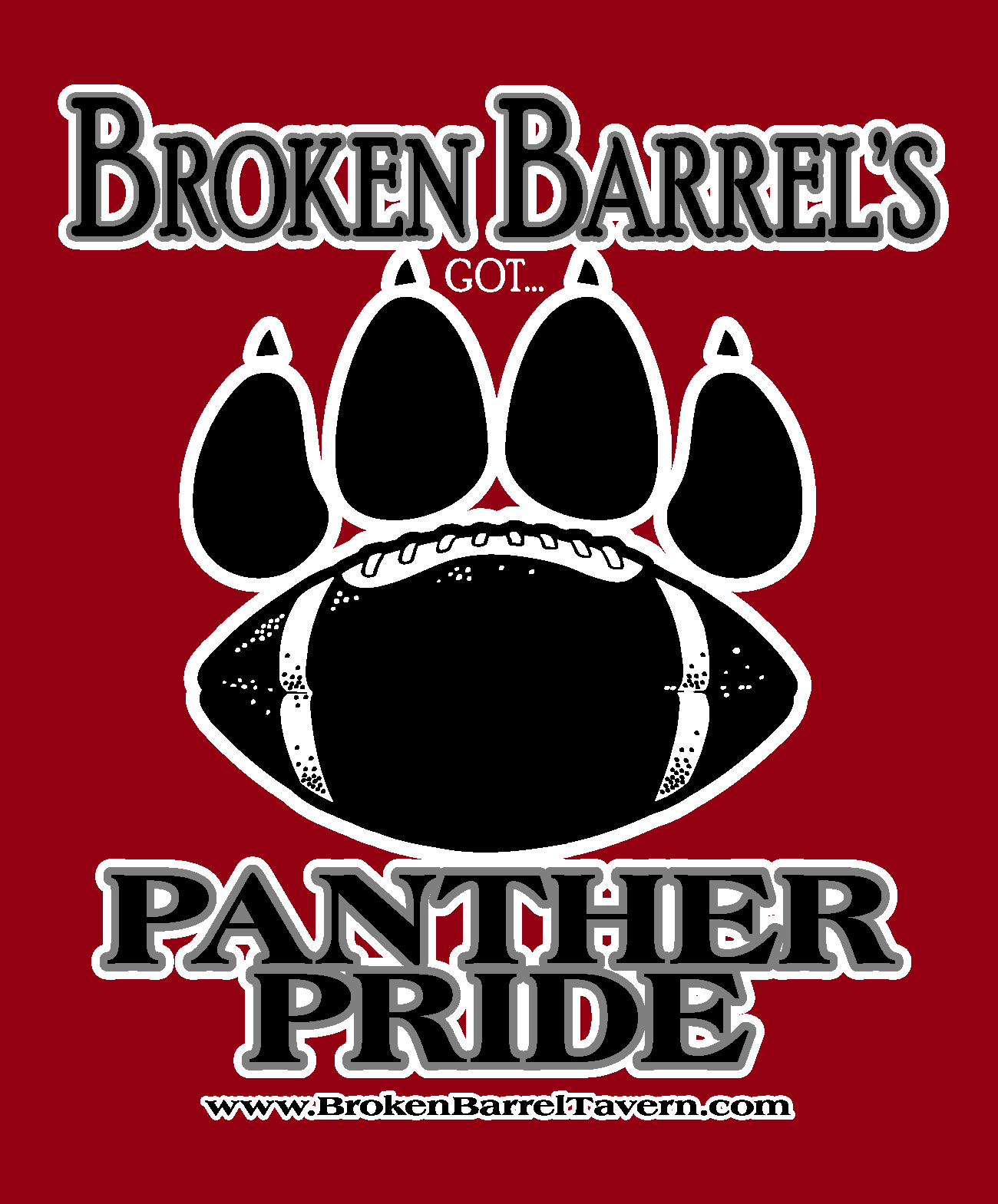 Ladies Panther Pride Tee